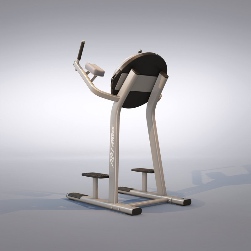 knee machine 3d max
