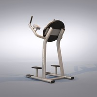 knee machine 3d max
