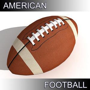 of football ball american