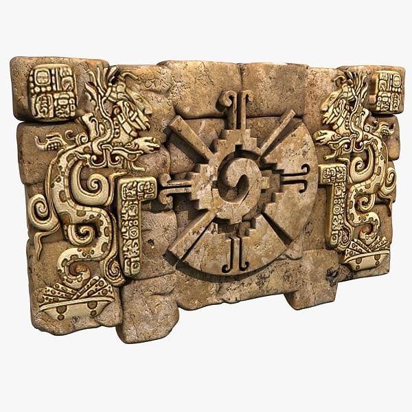aztec artifact 3d model