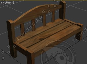 bench 3ds