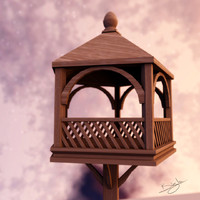 3ds max bird table