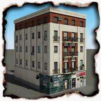 building 55 3d 3ds