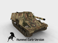 SdKfz 165 Hummel Early Version 13th Panzer Division