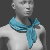 fashion long neck scarf