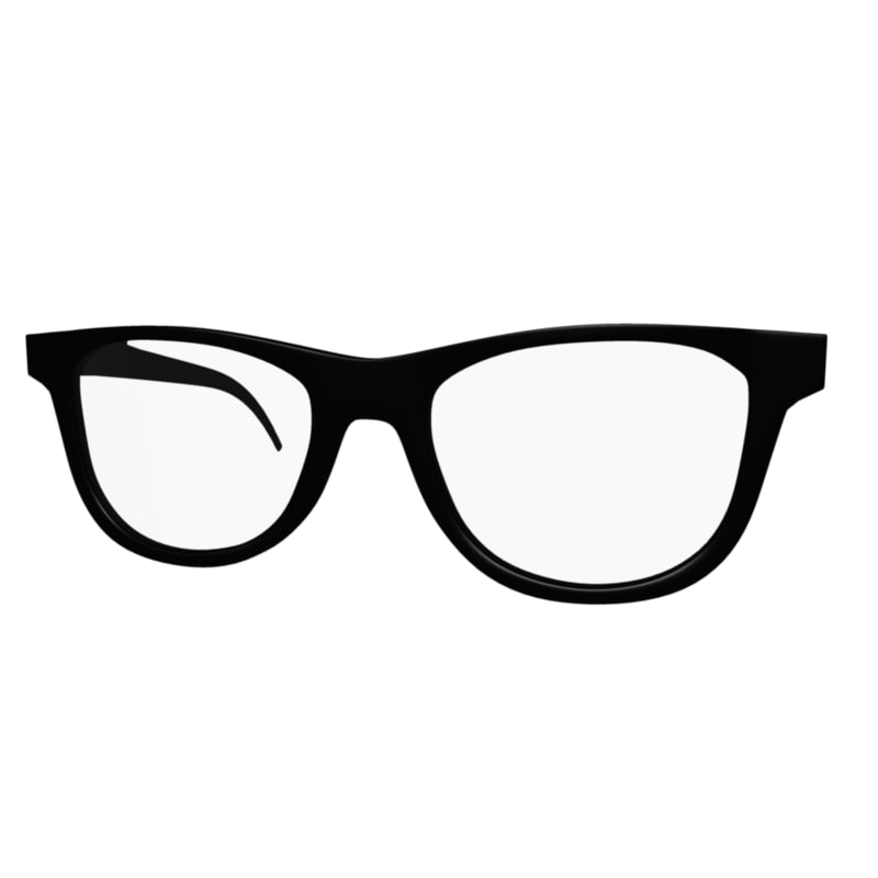 3d Model Glasses Accessories