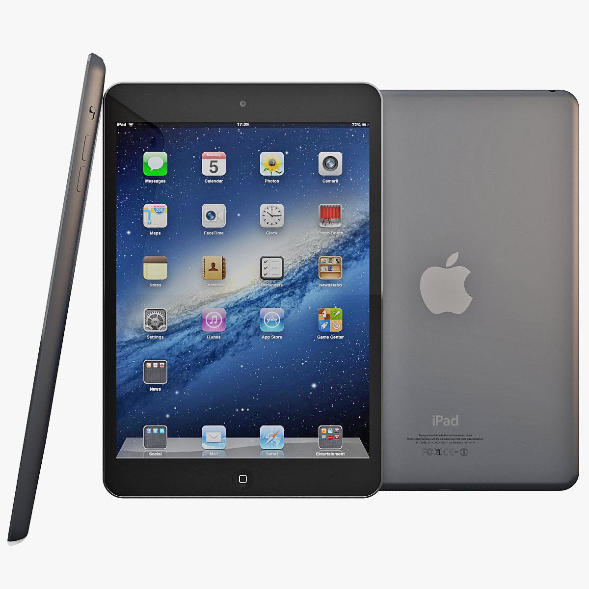 max black ipad mini