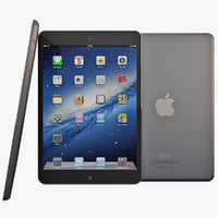 max black ipad mini
