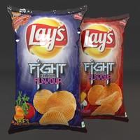 3ds max potatoe chips