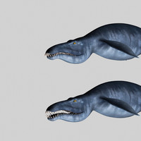 liopleurodon 3d model