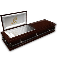 High Def Classic Coffin wood metal