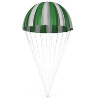 3d parachute