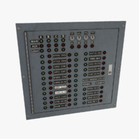 3d model electrical panel