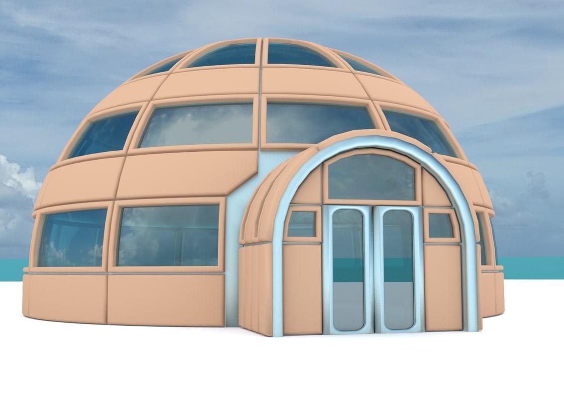 maya iglo house structures