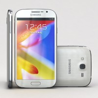 samsung galaxy grand i9080 3d model