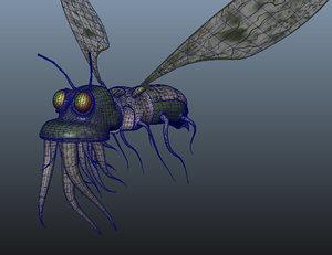 3d bug model