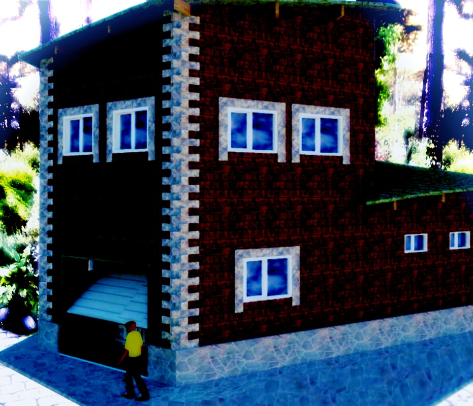 3d house project