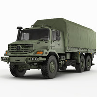 Mercedes Zetros Military 6X6
