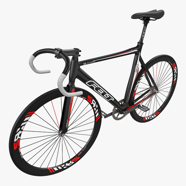 felt track bike tk2 3d max