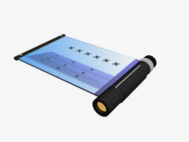 3d futuristic phone