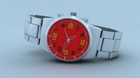 free max model wristwatch