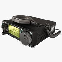 ham radio 3d model