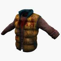 3dsmax blood clothes