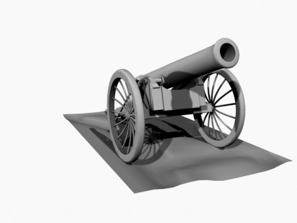 maya civil war cannon