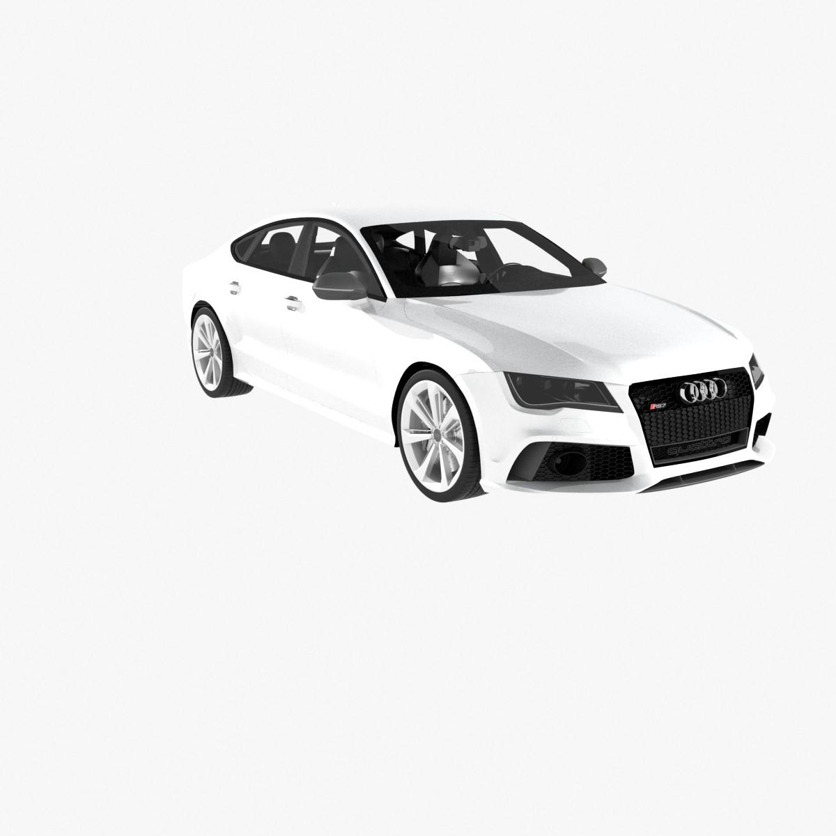 audi rs7 sportback 2014 3d max