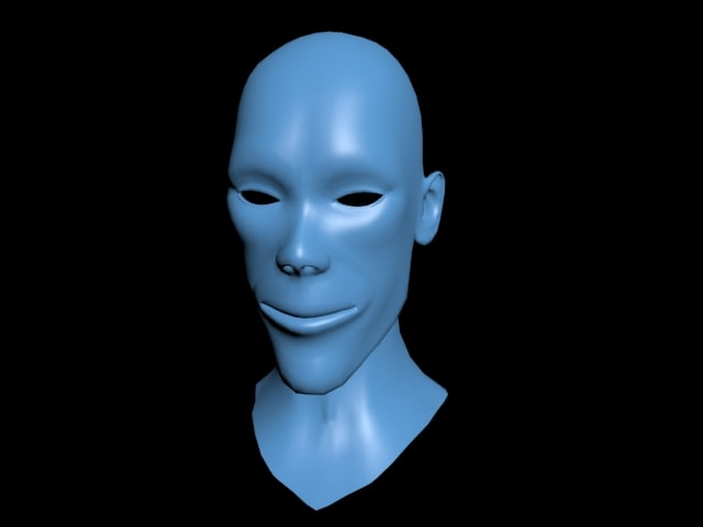 base head 3d model