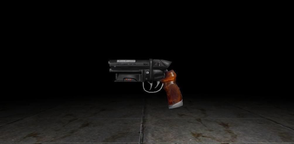 3d model gun blade runner
