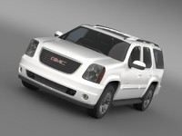 gmc yukon slt 3d model