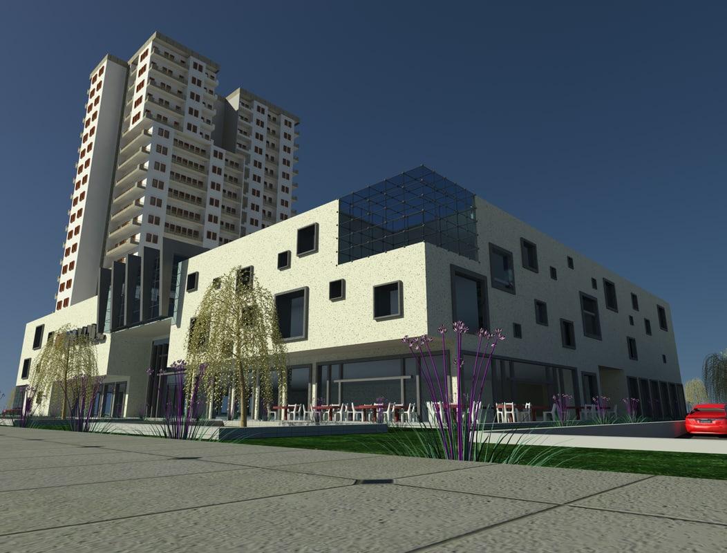 max mall building