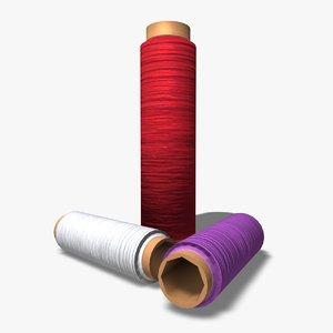 c4d cotton reels