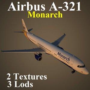 airbus mon 3d model