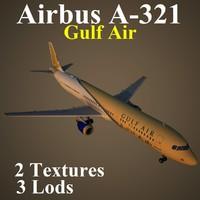 airbus gfa 3d model