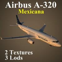 airbus mxa 3d model