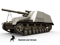hummel late version sd 3d model