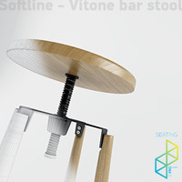 Vitone bar stool