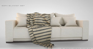 blanket sofa