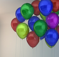 3d balloon fun model