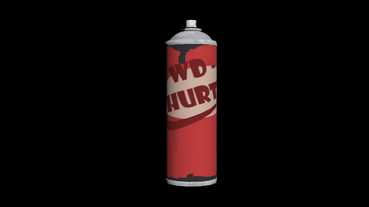 wd hurty 3d model