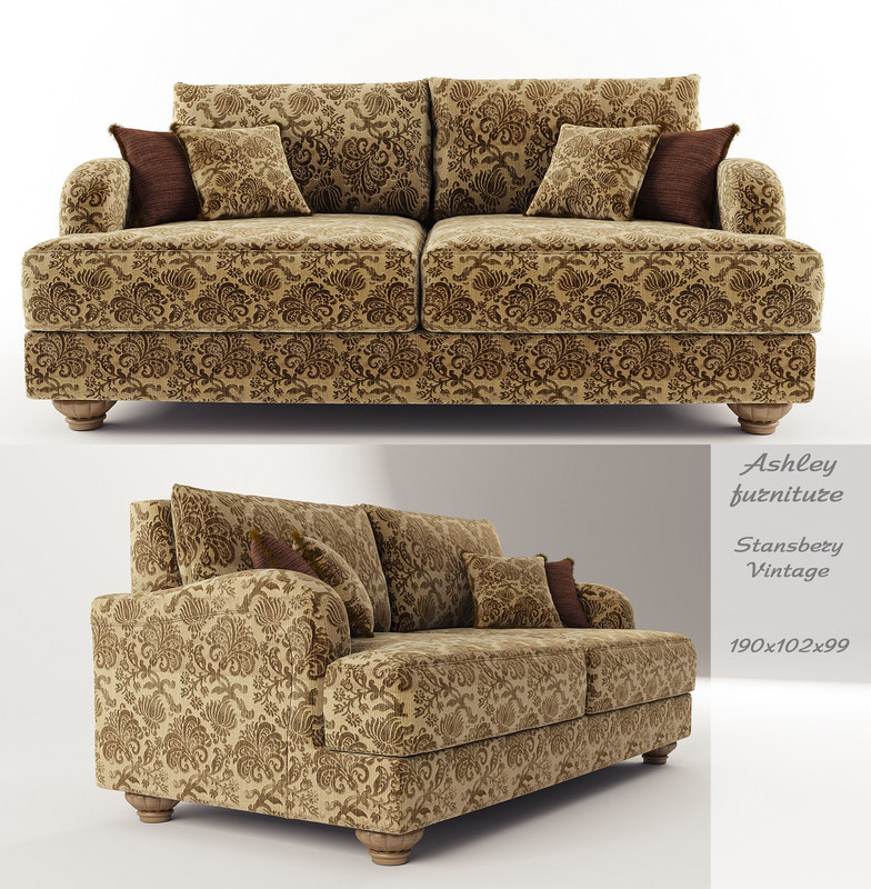 ashley furniture stansberry-vintage 3d model