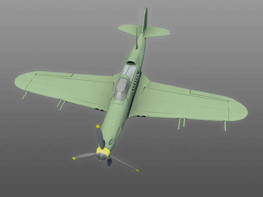 3d model aircobra cobra air
