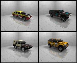 ready cars 3d 3ds