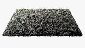 3d shag carpet rug