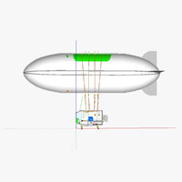 3d airship unheated
