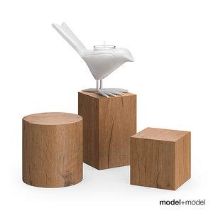 chick candleholder 3d model