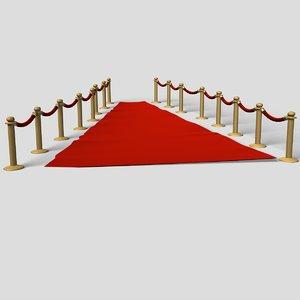 red carpet 3d lwo