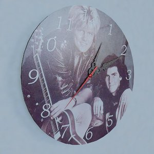 wall clock modern talking 3d dwg